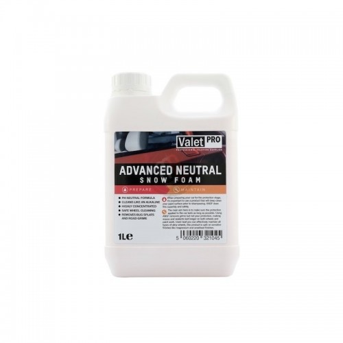 Advanced neutral snow foam