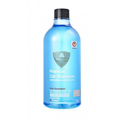 Premium car shampoo
